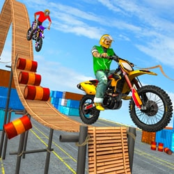 bike stunt master - Racing