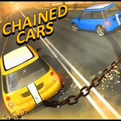 chained cars 3d impossible driving - Racing